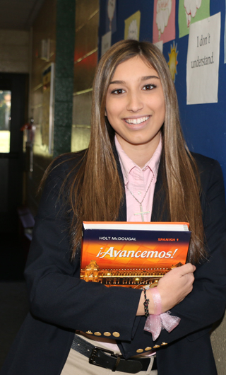 Glenholme School student