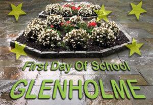 First Day of School, Glenholme 2020