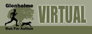 The Glenholme Virtual Run For Autism Logo 2020